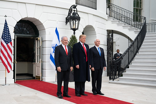 President Trump Welcome the Prime Minister of Israel to the White House