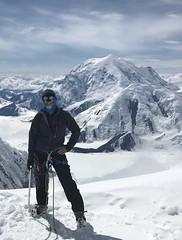 "At ""the edge of the world"" on Denali (Matt_McCullough) Tags: denali mattmccullough mountain mountaineering climbing view alaska"