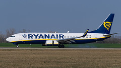 EI-FIN / Boeing B-737.8AS / Ryanair (PBe1958) Tags: transportation lietadlo aircraft airplane aero aeroplane airliner jetliner boeing b738 b7378as ryr ryanair bts bratislavaivankamrštefánik
