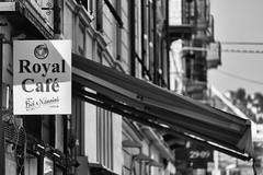 Liguria La Sezia (michael_obst) Tags: liguria bellaitalia street building blackandwhite monochrome laspezia mono architecture sony fe70300mm schwarz weiss bnw bw royalcafe nannini buildingfront