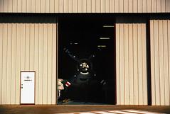 There's a monster in hanger 4 (nateabrown) Tags: analog grain is good grainisgood portra portra400 kodakportra konica minolta redditanalog dallas