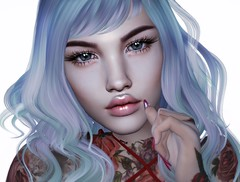 Poison (Chelsea Chaplynski ( Amity77 inworld)) Tags: powder pack gosee catwa shape applier