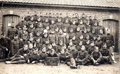 Family archives - 1923 - military service Beverloo (DimitriDevuyst) Tags: army belgium beverlo leopoldsburg military 1923