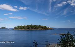 Curtiss Lighthouse (Al Fontaine) Tags: maine coastline lighthouse shoreline scenic