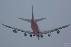 H18A9244 (Said Aminov) Tags: aviation aircraft avgeek airport vnukovo vko uuww moscow russia boeing b747 winter snow