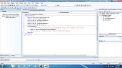 Test Koneksi Database Visual Basic 2008 (alwipratama14x) Tags: visual basic