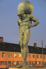 Atlas Statue, Grønningen, Copenhagen (Andrew-M-Whitman) Tags: copenhagen denmark atlas statue grønningen