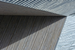 Play of lines and shadow (Jan van der Wolf) Tags: map192188v lines lijnen lijnenspel playoflines station centraalstation rotterdam gevel gebouw architecture architectuur shadow schaduw schaduwspel schaduwen shadowplay