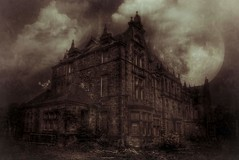 Gartloch Mental Institute (Michelle O'Connell Photography) Tags: glasgow hospital abandoned decay derelict asylum gartlochmentalinstitute gartlochhospital sanitorium mentalinstitution urbangrime moon imagination mobileedit michelleoconnellphotography