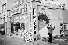 San Pablo Ave, El Cerrito, CA (Timothy Lewis Jr.) Tags: trix olympusxa3 trixpushedx1 sanpabloaveproject blackandwhitefilm