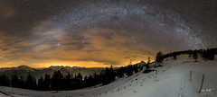 Winter milky way panorama (markus_langlotz) Tags: mountains sky stars sterne astronomie astronomy starry night milky way milchstrase twan nightscape