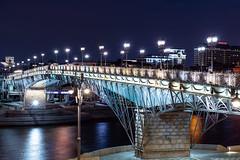 Footbridge (gubanov77) Tags: footbridge bridge night city cityscape urban street streetscape moscow russia yakimanka patriarchalbridge patriarshybridge патриаршиймост