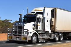 Blenners Transport - Kenworth T659 (Scottyb28) Tags: kenworth t659 blenners refridgeration roadtrain truck trucks trucking highway haulage diesel loaded interstate