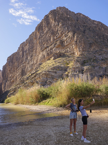 Selfie for Instagram (Santa Elena Canyon)