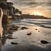 Sunset: La Jolla Shores looking South