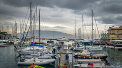 Naples, Italy: Marina at Castel dell'Ovo (nabobswims) Tags: campania hdr highdynamicrange ilce6000 it italia italy lightroom mirrorless nabob nabobswims naples napoli photomatix sel18105g sonya6000