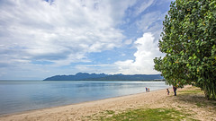 Langkawi Beach (grass-lifeisgood) Tags: canon eos 6d ef 1635mm f28l ii usm ultrawide angle landscape seascape beach sandy seaside langwai kedah malaysia travel destination wanderlust sky sea land quiet serene tree