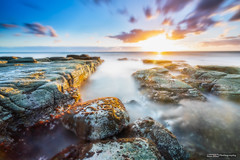 Xmas Sunrise at Point Cartwright (tony.liu.photography) Tags: sunrise landscape beach clouds sun ocean rocks seascape longexposure canon 5d4 16mm 1635lf4is grad nd filter cpl sunshinecoast queensland buddina australia
