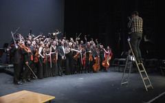 Making Of (Guillermo Relaño) Tags: guillermorelaño nikon d90 teatro nuevoapolo orquesta camerata musicalis especial ¿porqueesespecial schuman sinfonía cuarta concierto
