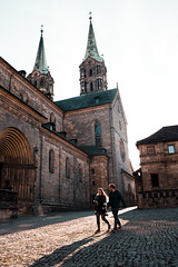 bamberg church (simonwzr) Tags: bamberg bayern landscape street photography hike hiking giechburg
