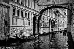 1811-Venice-60 (-LoriM-) Tags: boat canal gondola gondolier italy venice