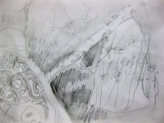 Sun Anglers (giveawayboy) Tags: pencil eraser water erasure drawing sketch art fch tampa artist giveawayboy billrogers
