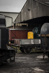 Peek Class 45 No 45041 (Tom Insole Photography) Tags: nene valley railway nenevalley nenevalleyrailway preservation peek wagon shed wet windy dull rain 45 class45