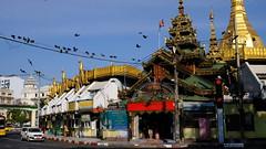 Sule Pagoda (Andrzej Olszewski) Tags: yangon rangoon burma myanmar asia