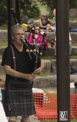 Piper Opening (rumimume) Tags: rumimume 2019 niagara ontario canada photo canon 80d piper kilt bagpipe amphitheatre summerfolk concert performance