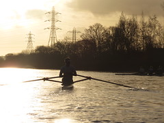 IMG_8968 (fergusmainland) Tags: newcastle nubc university tyne canottaggio cannon sunset rowing aviron rudern sunrise british boat