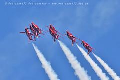 9919 7 ship loop R1 R2 R3 R5 R6 R7 R9 (photozone72) Tags: raf rafat redarrows reds redwhiteblue aviation aircraft jets hawk canon canon100400f4556lii canon7dmk2 7dmk2 scampton lincolnshire