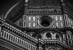 Cattedrale di Santa Maria del Fiore (1 of 1) (rubenheijloo) Tags: cathedral florence bw blackwhite detail fragment monochrome italien roof