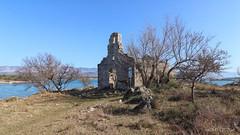 Ruins of St. Peter church (malioli) Tags: stone history heritage religius religion church krk croatia hrvatska europe canon