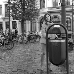 Tuesday Noon (Spotmatix) Tags: belgium brussels effects monochrome places street streetphotography