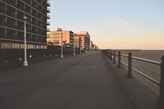 (i threw a guitar at him.) Tags: whirlwind whirl wind virginia beach ocean sea coast atlantic 2019 sunset sky boardwalk board walk hotels tourism winter season sand empty