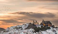 Atardecer en Olvera (angelcard1967) Tags: olvera castillo catedral