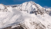 Mountain Peak (free3yourmind) Tags: mountain range peak snow clouds cloudy day blue sky mestia georgia explore exploration caucasus