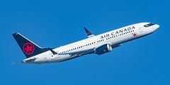 Air Canada Boeing 737 MAX 8 C-FSDQ (Thames Air) Tags: air canada boeing 737 max 8 cfsdq