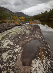 rocky river II (crazyhorse_mk) Tags: otra setesdalen valle austagder norway river water rock rocky valley forest sky clouds autumn fall landscape nature
