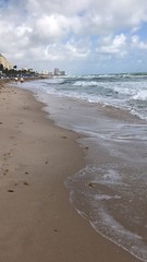 Time lapse of Central Beach; Fort Lauderdale, Florida (hogophotoNY) Tags: ocean sand timelapsevideo timelapse usa floridausa florida beach video