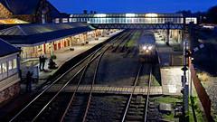"The Last ""Hurrah""? (Richie B.) Tags: workington main railway station cumbria arriva northern trains drs direct rail services english electric british class 37 37425"