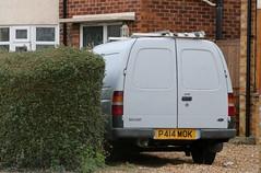 P414 MOK (Nivek.Old.Gold) Tags: 1997 ford escort 18d 55 van