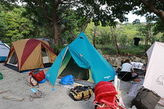 IMG_7314 (諾雅爾菲) Tags: taiwan camping 台灣 墾丁 露營 香蕉灣原始林露營區 熊帳 coleman 印地安帳