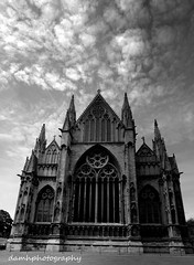 Lincoln Cathedral (damhphotography) Tags: cathedral skies monochrome lincoln architecture blackandwhite sky clouds