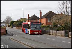Warrington's Own Buses - DK07 FWH (2) (Tf91) Tags: warrington warringtonbus warringtonboroughtransport warringtonsownbuses sankey penketh dk07fwh 67 15 sankeycircular wrightcadet