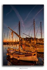 Sanary illuminations de fin d'année (Nat_L2_photographies) Tags: rouge sanary noël illuminations bateaux pointus var sunset lumière christmas