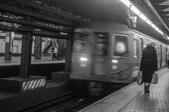 Goodbye! (Capitancapitan) Tags: black bronx camera goodbye k500 k70 manhattan new nyc pentax subway tren white york