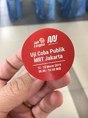 IMG_7723 (Billy Gabriel) Tags: mrt jakarta mrtstation trial subway metro train trainstation indonesia