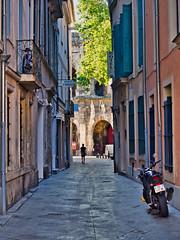 Nîmes, France (Richard Pilon) Tags: france street nîmes olympus southernfrance architecture streetphotography