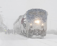 CZ at Fraser (joemcmillan118) Tags: colorado fraser cz no5 amtrak californiazephyr snow